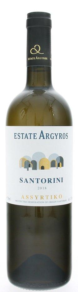 Argyros Santorini Assyrtiko 0,75L, PDO, r2018, bl, su