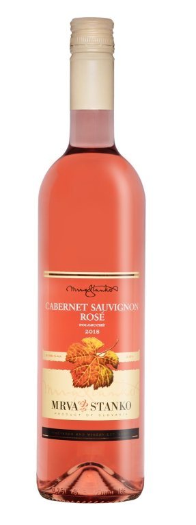 Mrva & Stanko Cabernet Sauvignon rosé, Vinodol 0,75L, r2018, ak, ruz, plsu, sc