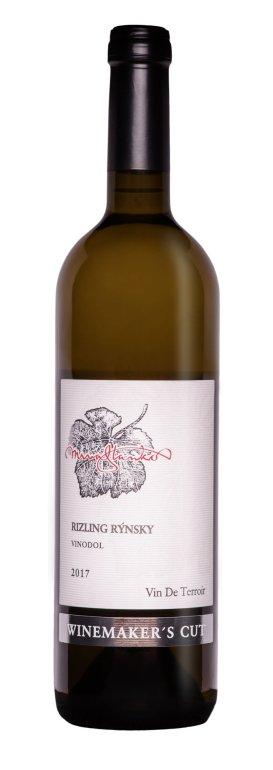 Mrva & Stanko Winemaker's Cut Rizling rýnsky, Vinodol 0,75L, r2017, nz, bl, plsu