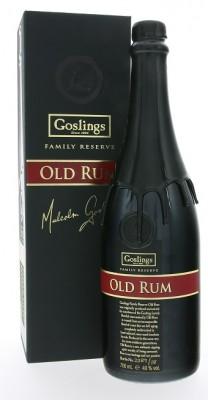 Gosling's Old Family Reserva Bermuda 40,0% 0,7L, rum, DB