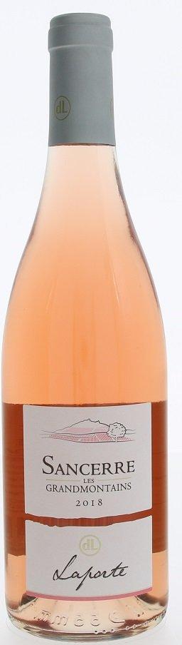 Domaine Laporte Sancerre Les Grandmontains Rosé 0,75L, AOC, r2018, ruz