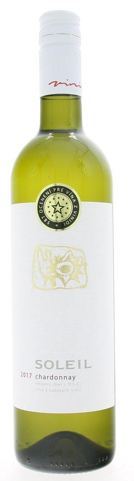Vinidi Soleil Chardonnay 0,75L, r2017, nz, bl, su