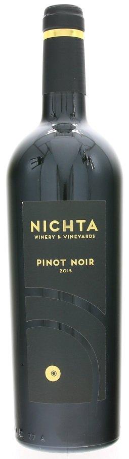 Nichta NICHTA  Pinot Noir 0,75L, r2015, ak, cr, su