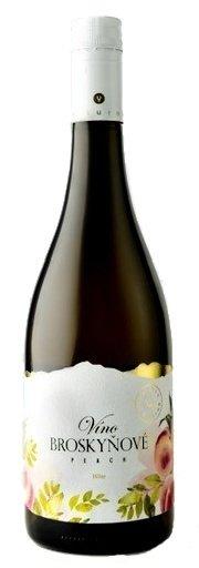 Miluron Víno Broskyňové 0,75L, ovvin, bl, sl, sc