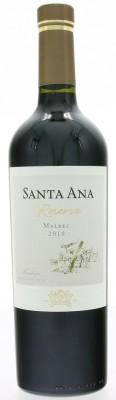 Santa Ana Reserve Malbec 0,75L, r2018, cr, su