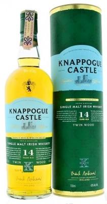 Knappogue Castle 14YO Irish 46,0% 0,7L, whisky, DB