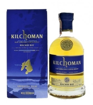 Kilchoman Islay Single Malt Scotch Whisky Machir Bay 46% 0,7L, whisky, DB
