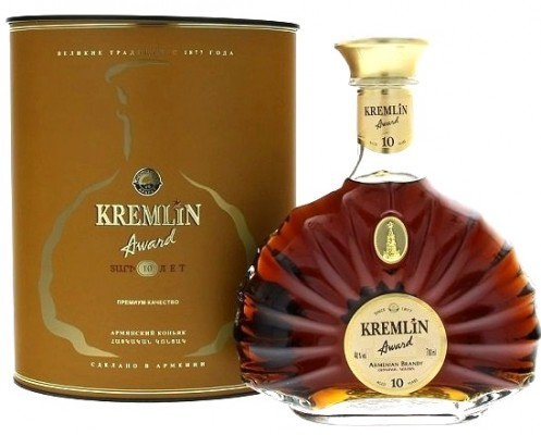 Kremlin Award 10 years old 40% 0,7L, brandy, DB