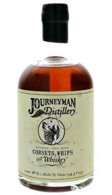 Journeyman Corsets, Whips & Whiskey 59,15% 0,5L, whisky