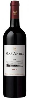 Rothschild Mas Andes Merlot 0,75L, r2016, cr, su