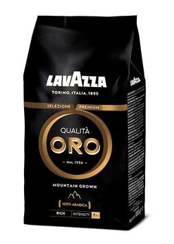 Lavazza Retail Qualita ORO Mountain Grown 100% Arabica, 1000g,zrn, ochr