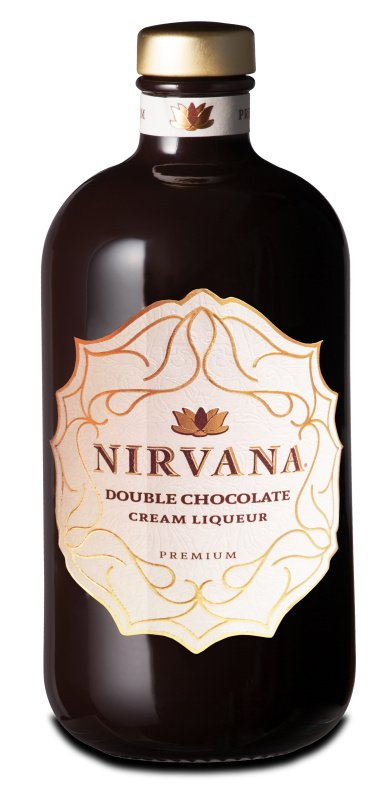 Nirvana Double Chocolate Liqueur Premium 15% 0,5L, liker