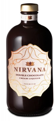 Nirvana Double Chocolate Liqueur Premium 15% 0,5L, liker