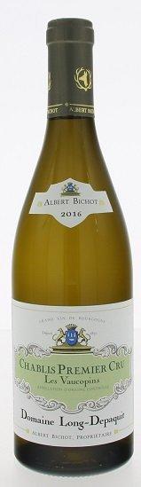 Albert Bichot Domaine Long-Depaquit Chablis Les Vaucopins Premier Cru 0,75L, AOC, 1er Cru, r2016, bl, su