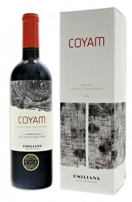 Emiliana Coyam BIO 0,75L, r2016, cr, su, DB