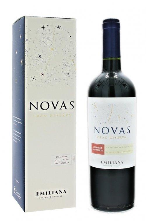 Emiliana Novas Cabernet Sauvignon, Gran Reserva, BIO 0,75L, r2015, cr, su, DB