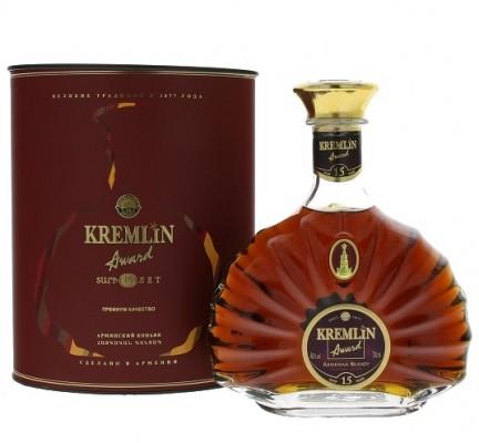 Kremlin Award 15 years old 40% 0,7L, brandy, DB