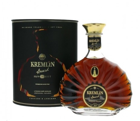 Kremlin Award 20 years old 40% 0,7L, brandy, DB
