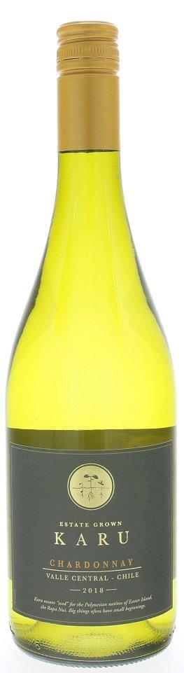 Karu Chardonnay 0,75L, r2018, bl, su