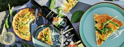 Slaný koláč so špargľou a Mrva & Stanko - RECEPT a tip na víno